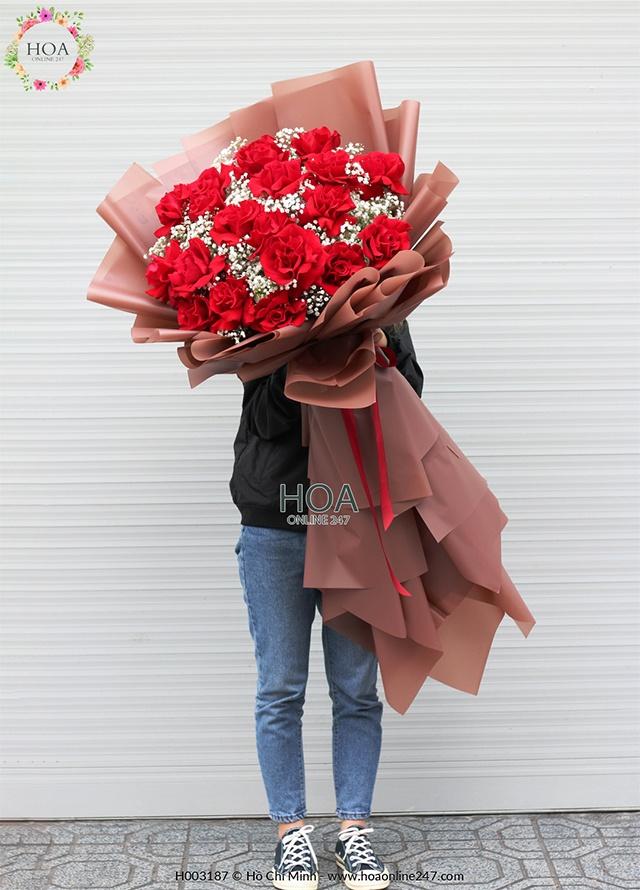 Hoa hồng nhập khẩu TPHCM - Hình 1