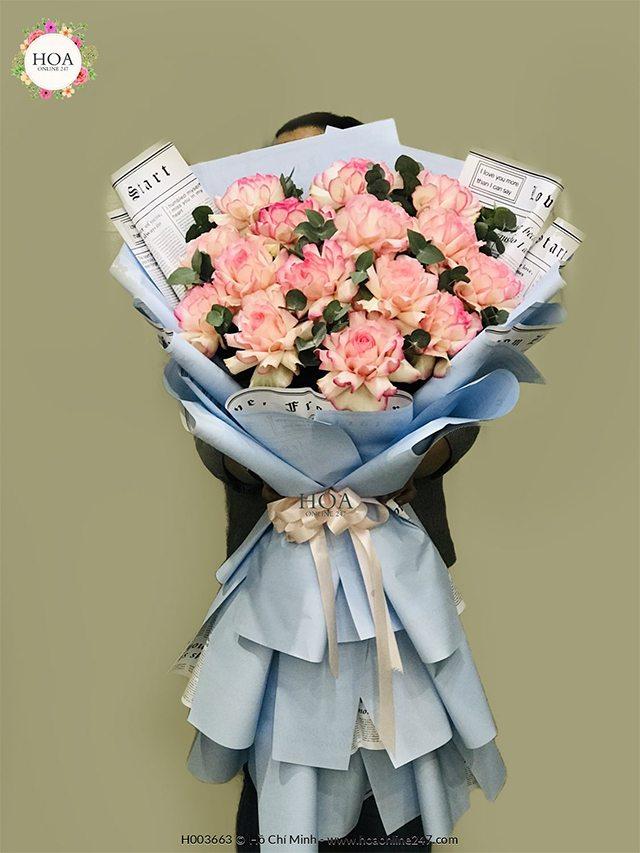 Hoa hồng nhập khẩu TPHCM - Hình 11