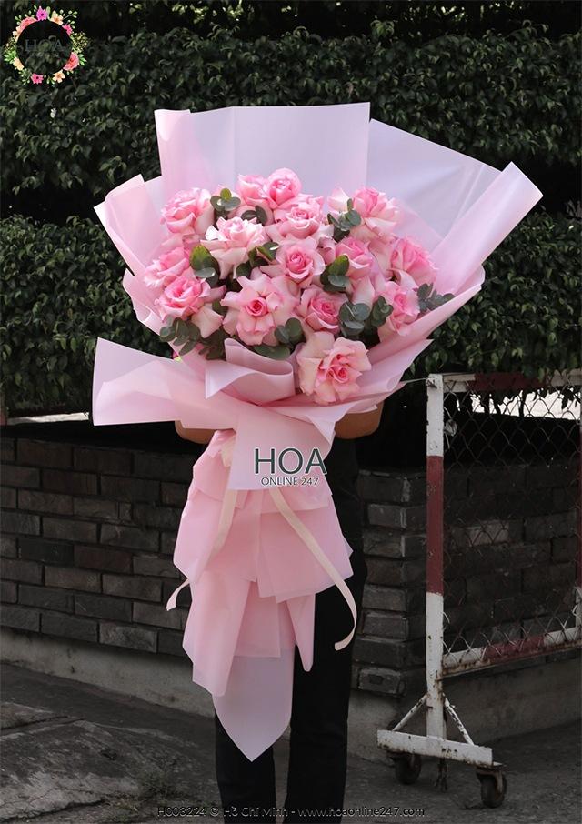 Hoa hồng nhập khẩu TPHCM - Hình 12
